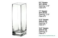 Square Vases