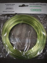 Apple Green Aluminum Wire