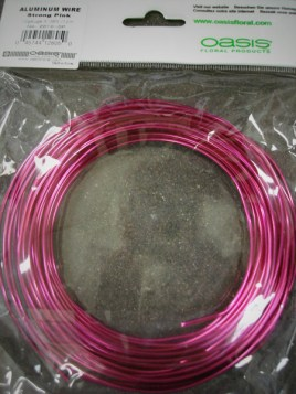 Strong Pink Aluminum Wire