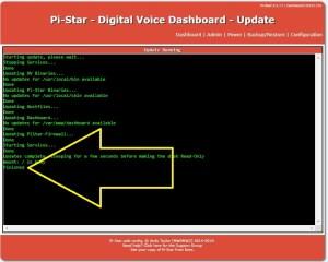 Pi- Star Update Process