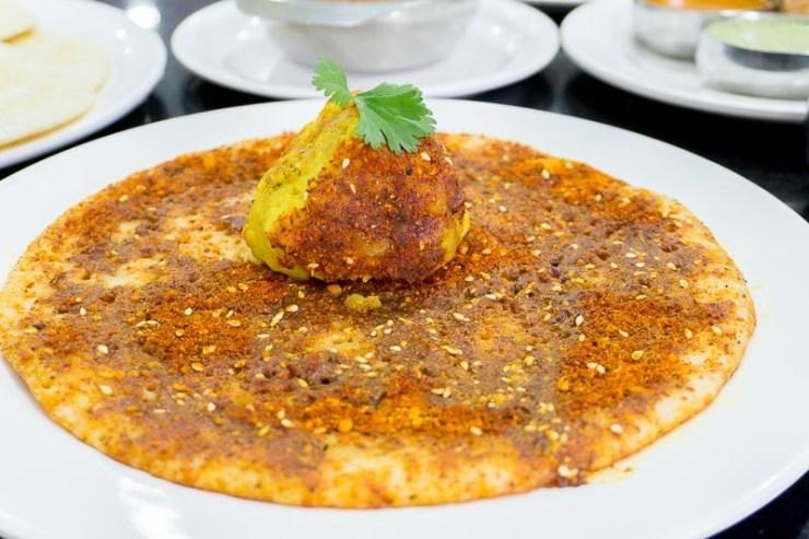 A serving of Pudi Masala Dosa at MTR Singapore