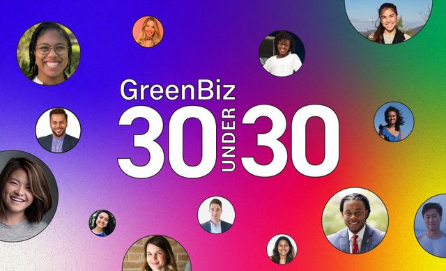 The 2021 GreenBiz 30 Under 30