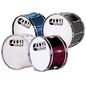 "DB Percussion DMB261012DI 26"" Marching Bass Drum"