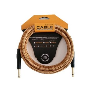 Leem FGC-1-5 Fabric Instrument Cable