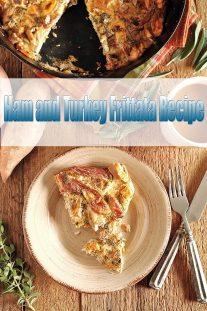 Ham and Turkey Frittata Recipe