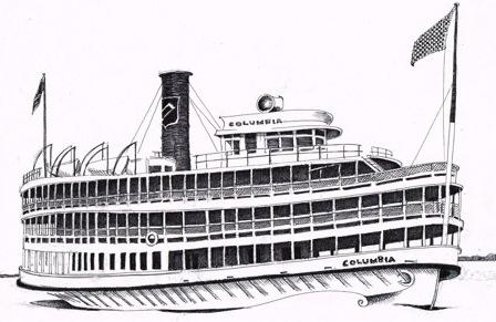 Nyack Sketch Log: Richard Anderson and the SS Columbia