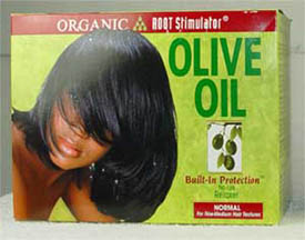 Organic Olive Oil No Lye Relaxer System