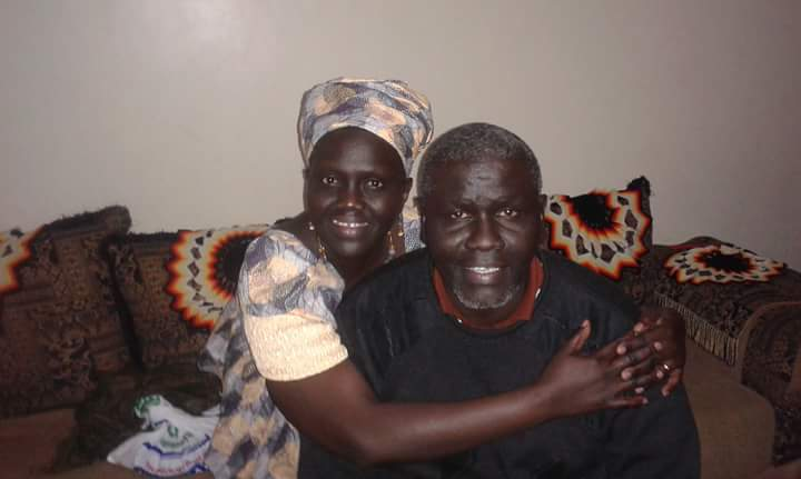Aggrey Idri in his house in Nairobi before his illegal detention in Kenya(Photo: private file)