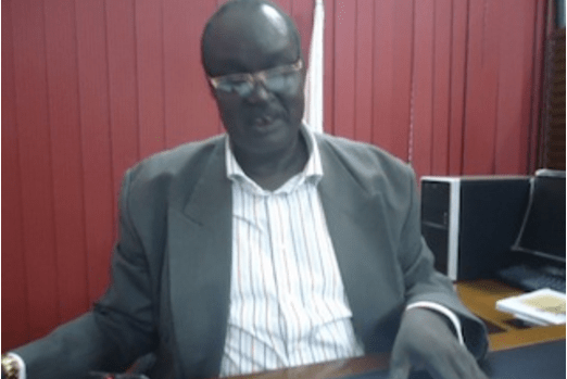 Gabriel Gai Riam Jonglei, former governor of Akobo state and former state's minister of cabinet and parliamentary affairs in former Jonglei state(Photo: file)