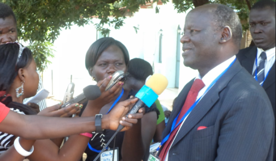 Dr. Lam Akol, the former chairman of SPLM-DC, now leading an armed rebellion in South Sudan(Photo: file)