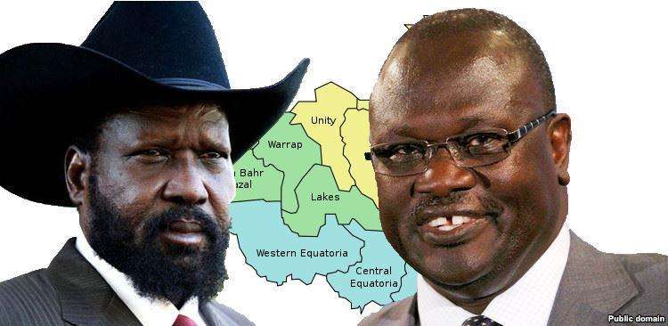 President Salva Kiir Mayardit and First Vice President Dr. Riek Machar Teny(Photo: file)
