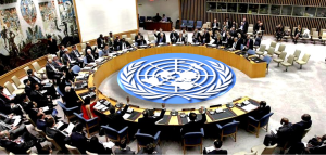 The UN Security Council during a past panel discussion...