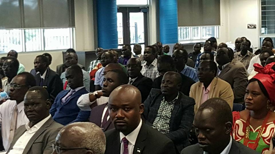 Members of SPLM/A-IO chapter in Australia....