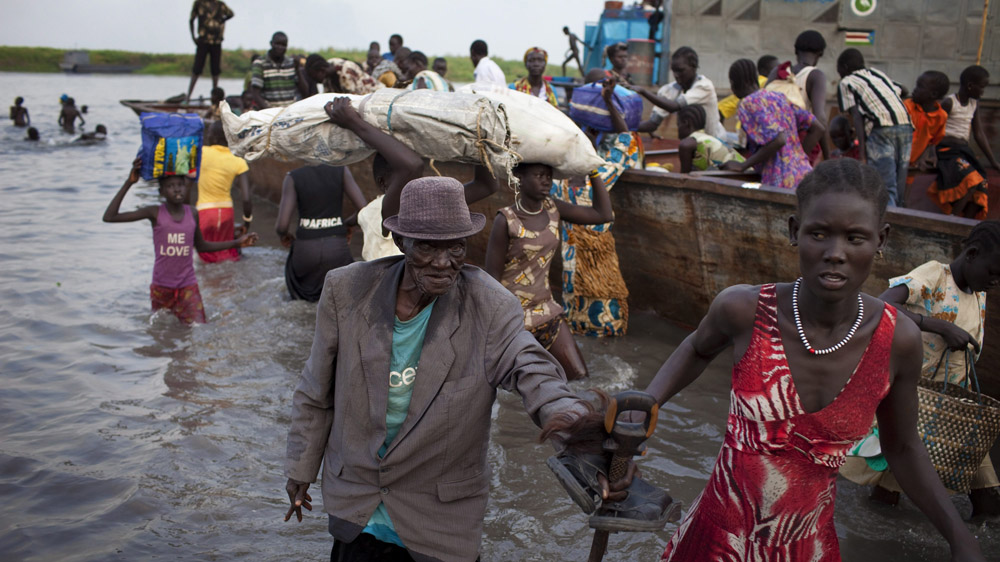 A power struggle between South Sudanese President Salva Kiir and his former vice-president Riek Machar turned violent in mid-December, when clashes erupted between their ethnic groups, the Dinka and the Nuer. EPA/JM LOPEZ