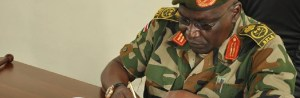 Gen Paul Malong Awan, former SPLA Chief of General Staff and the current commander-in-chief of a new rebellion(Photo: file)