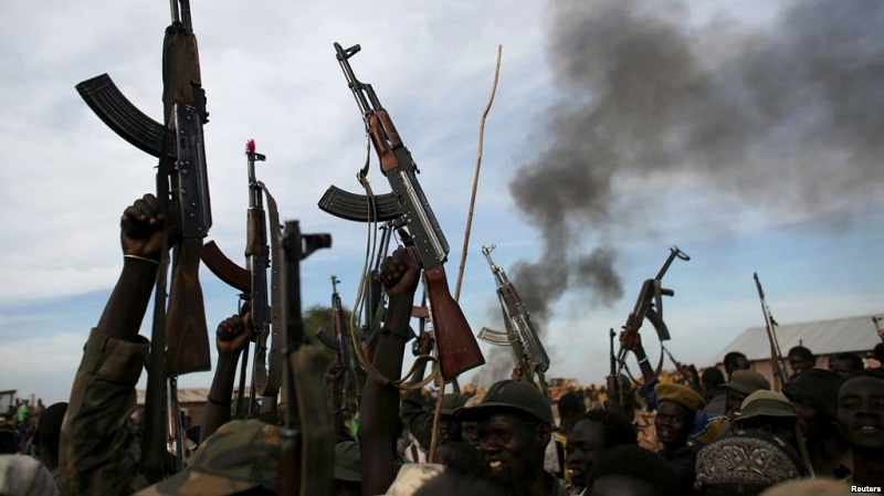 BREAKING: Fighting erupts among opposition fighters near Sudanese border