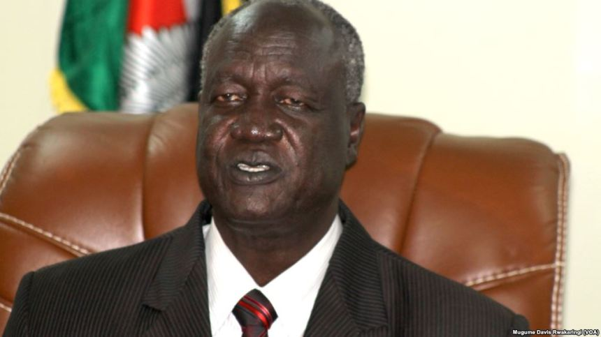Kuol Manyang, Defense Minister, in a past event(Photo: file)