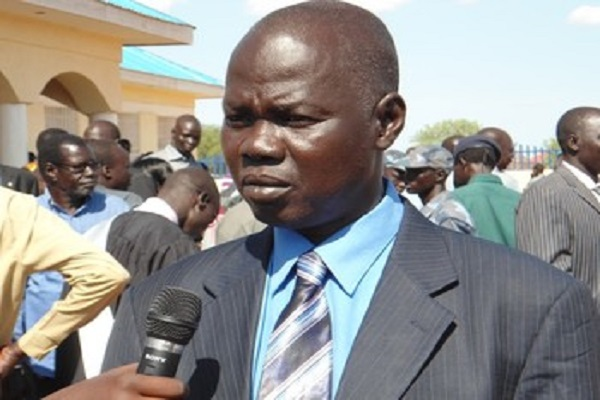 South Sudan's governor of Gogrial State, Victor Atem Atem (File photo)
