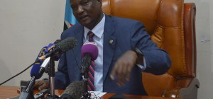 South Sudan's First Vice President Taban Deng Gai (photo credit: file)