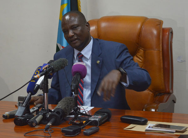 South Sudan's First Vice President Taban Deng Gai (photo credit: file)