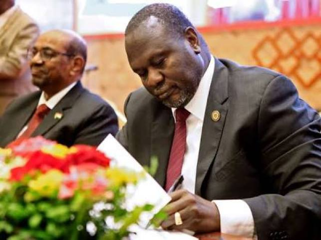 South Sudan opposition leader Dr. Riek Machar Teny (File photo)