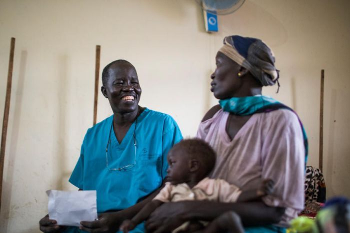 South Sudanese surgeon, Evan Atar Adaha, 52, is the winner of the Nansen Refugee Award for 2018(Photo: file)