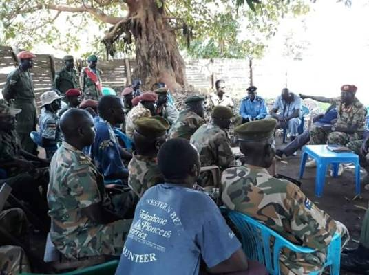 Delegations of South Sudan warring parties, the SPLA factions, meet in Western Bhar el Ghazal to agree to implement the new peace agreement(Photo: file)