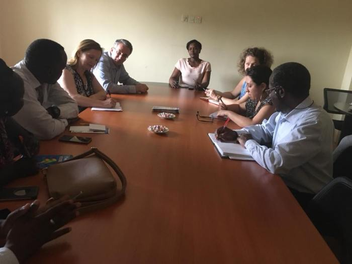 National Alliance For Women and friends holding a meeting in Juba, South Sudan, earlier this year, April 2018(Photo credits: NAWL/supplied/File/)