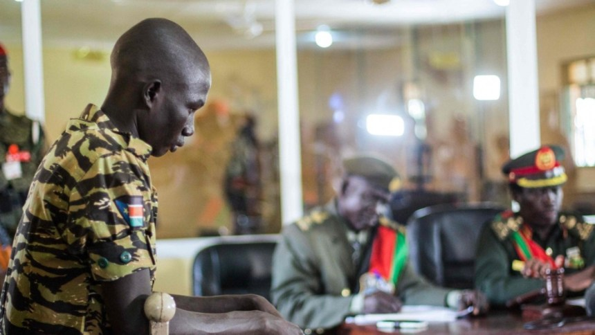 South Sudanese soldiers being tried by the Military Court Martial for gang raping women and little girls in the capital, Juba(Photo: file)