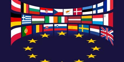 Flags of the EU member state (File/Supplied/Nyamilepedia)