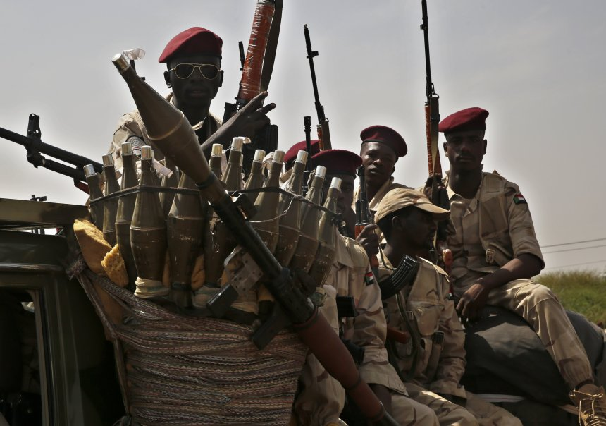 Sudanese militia, the Janjaweed terrorizing populations of Sudan(Photo: file/supplied)