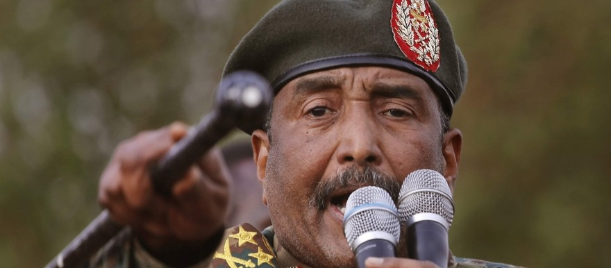 Chairman of Sudan's Transitional Military Council (TMC), General Abdel Fatah al-Burhan (File/Supplied/Nyamilepedia)