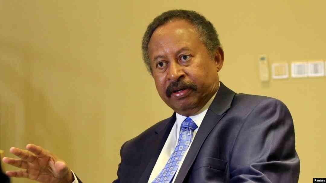 Sudan's new prime minister Abdalla Hamdok (File/Supplied/Nyamilepedia)