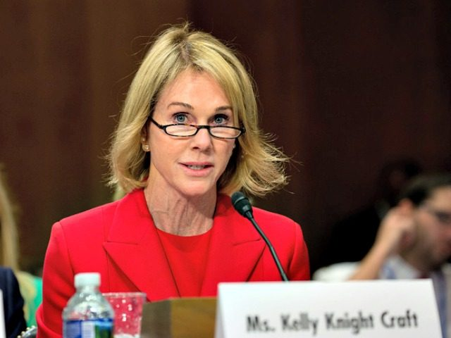 US ambassador to the UN Kelly Craft (File/Supplied/Nyamilepedia)