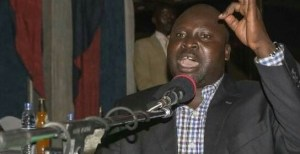 Dr. Oyet Nathaniel Pierino , SPLM-IO former Governor of Imatong state and party representative to National Constitution Amendment Committee(Photo credit: Supplied/Nyamilepedia)