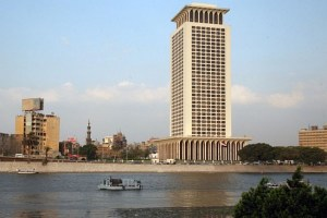 Egyptian ministry of foreign affairs (Photo credit: Egyptian media)