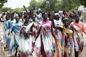 South Sudanese women during cultural activity (Photo credit: Pashoda.org)
