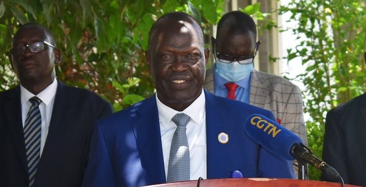 Governor of South Sudan Central Bank Jamal Abdallah Wani (Photo credit: supplied)