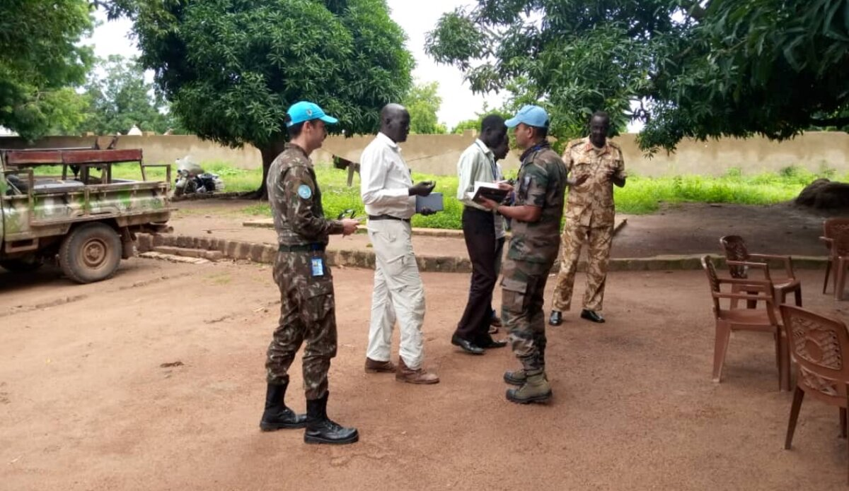 South Sudan Army appreciates UNMISS troops for preventing inter-communal clashes in Cueibet, Lakes state