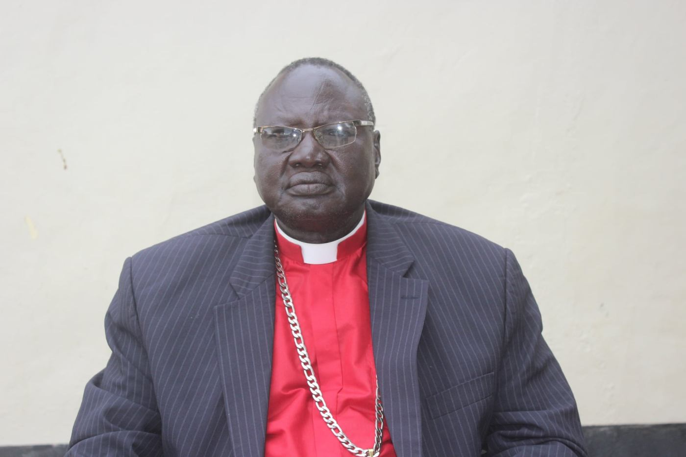 Archbishop Akurdid Ngong Akurdid the outgoing archbishop who gives conditions for his retirement(Photo credit: supplied)