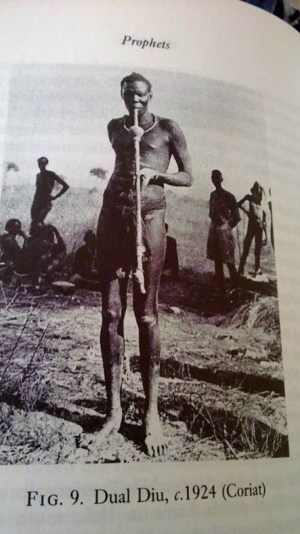 Dual Diu of Gawaar Nuer in early 20th century(Photo credit: Nyamilepedia/file/supplied)