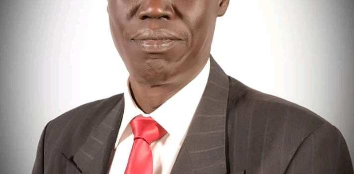The Vice Chancellor of the University of Juba, Dr.John Akech Apuruot(Photo credit: supplied/Nyamilepedia)