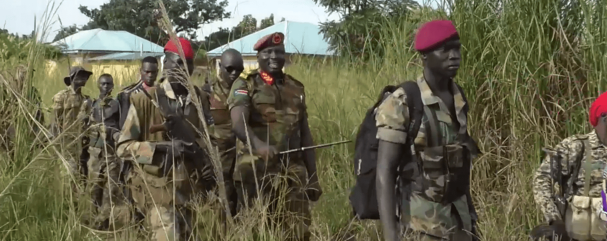 Maj. Gen. Moses Lokujo attacks SPLA-IO training centres in violation of the peace agreement