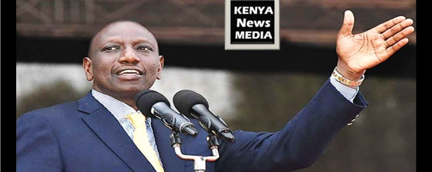 Kenyan Deputy President, William Ruto, speaking to Kenyan news media(Source: Youtube)