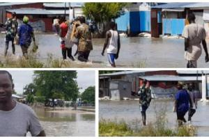 Flood affected areas of Jonglei State (Photo credit: Jacob Aluong)