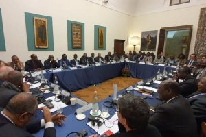 South Sudanese parties holding a peace talks on cessation of hostilities in Rome, Italy (Photo credit: courtesy image/Nyamilepedia)