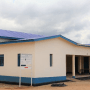A building handed over by the UNMISS police to South Sudan Police Service which will serve as a data and crime analysis centre.(Photo credit: Courtesy image/Nyamilepedia)