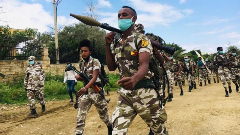 TPLF claims to have recaptured the historical town of Axum from federal forces