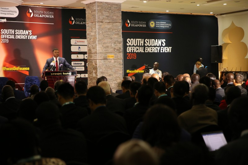 South Sudan holding oil and gas investment forum in 2019(Photo credit: supplied)