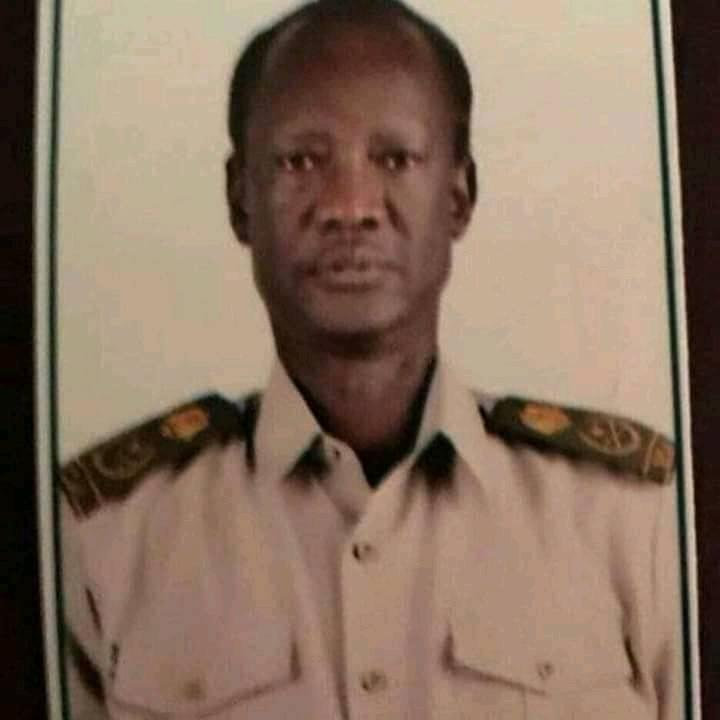 Late Telar Ring Deng during his early year of SPLM/A(Photo credit: file)